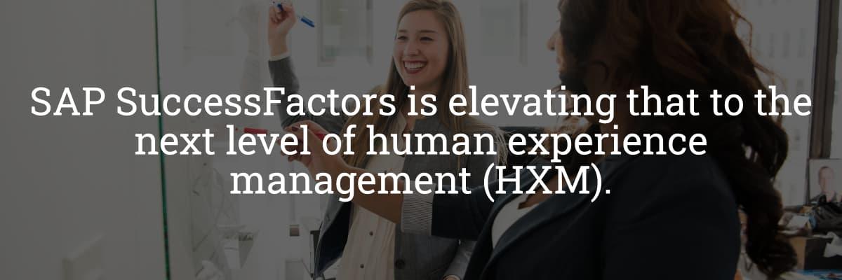 SuccessFactors Human Experience Management